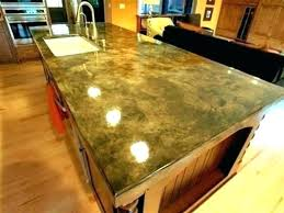 polished concrete countertops vs granite cost uk ireland contemporary polishing design ideas enchanting