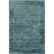 safavieh vintage mosed turquoise indoor distressed area rug common 5 x 8 actual