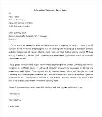 Technology Cover Letters Cover Letters For Free Cover Letter For Resume Sample Cover Letters