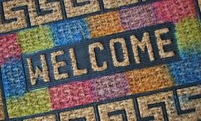 colorful welcome mat. Modren Colorful Inside Colorful Welcome Mat W