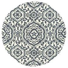 round gray rug evolution grey 8 ft x 8 ft round area rug gray runner rug