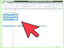 How To Create An Amortization Table In Excel How To Create An Amortization Schedule In Excel Calculate