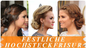 Sch Ne Festliche Frisuren Hochstecken F R Damen Youtube