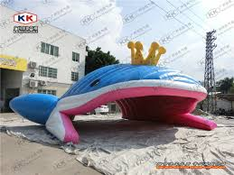 giant inflatable fish inflatable model tent advertising inflatable whale china