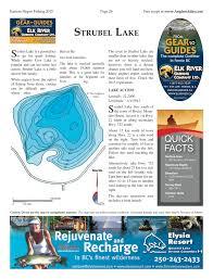 Strubel Lake Alberta Anglers Atlas