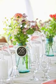 Ball Jar Decorations blue ball jar Archives Southern Weddings 4