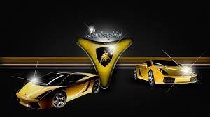 Car Logo: Lamborghini Logo 3D Wallpaper