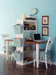 Office for small spaces Cozy Small Space Home Office Better Homes And Gardens Smallspace Home Offices Storage Decor