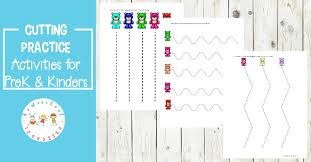 Your kindergartener will not only practice matching. Bear Themed Cutting Practice Preschool Worksheets