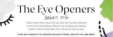 sephora makeup logo. august 2016: the eye openers sephora makeup logo