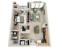 Small One Bedroom Apartment Floor Plans One Bedrooms 3d Bedroom Apartment Plans Further Small 1 For
