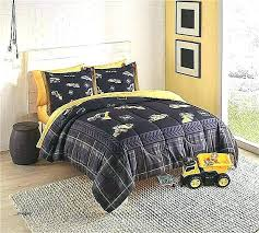 ding yellow toddler bedding black and