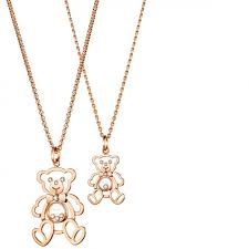 pendant by chopard chopard s teddy bear
