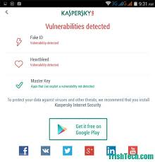 Scanner Android Fake Checks For Id Kaspersky Vulnerabilities qwF18E