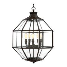 eichholtz owen lantern traditional pendant lighting. Eichholtz Owen Lantern - Gun Metal Large Traditional Pendant Lighting I