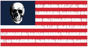 Výsledek obrázku pro americká vlajka parodie