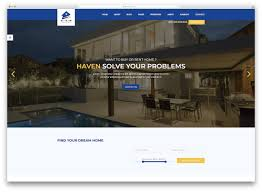 Property Web Design 25 Top Bootstrap Real Estate Website Templates 2020 Colorlib