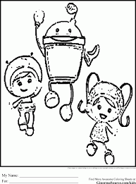 Small Picture Coloring Pages Nick Jr Printables Team Umizoomi Coloring Pages