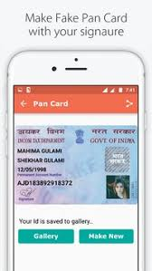 Id Card - Maker Fake بلاي For تنزيل متجر India Apk