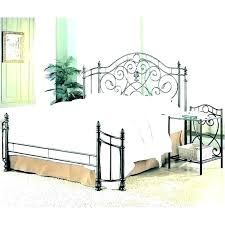 Outstanding Wrought Iron King Bed Frame California Cal Frames And ...
