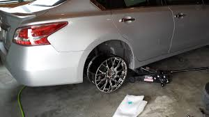 2013 Nissan Altima Bolt Pattern