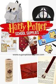 harry potter back to school ideas