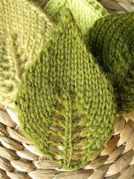 Leaf Knitting Pattern Amazing Knit Leaves From Ravelry The Pattern CO 48 Stitches Purl One