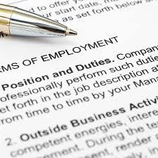 Standard Employment Contract New Employment Law Barrie Employment Contracts Stewart Esten Firm