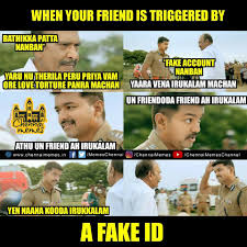 Fake Your Memes That - In List Chennai Id Tag