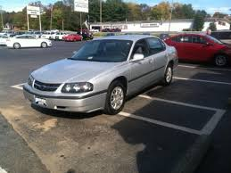 Silver / Gray 2004 Chevrolet Impala 4dr Sdn 4 Doors, Front Wheel ...