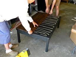kitchen table top ideas rustic farmhouse coffee table diy by rachel schultz