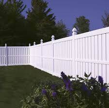 vinyl semi privacy fence. Brilliant Vinyl Millbrook SemiPrivate Vinyl Fence Avinylfencecom U2039 Throughout Semi Privacy Fence