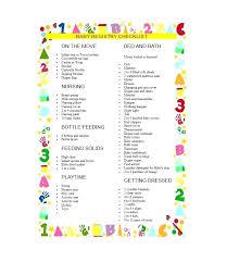 Baby Supplies Checklist Free Baby Registry Checklist Necessary Items For Newborn