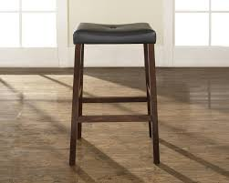 padded saddle bar stools. Upholstered Saddle Seat Bar Stool With 29 Inch Height. (Set Of Two)-Finish:Classic Cherry,Quantity:Set 2 - Walmart.com Padded Stools L
