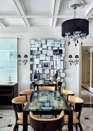 Style Mirrors Black And White Trend Dining Room Candles Mirror