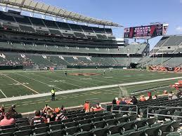 Paul Brown Stadium Section 144 Rateyourseats Com