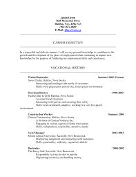 Bar Porter Sample Resume Sample Resume For Hotel Doorman Job And Resume Template 6
