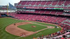 Reds Seating Chart Mezzanine Great American Ball Park Section 414 Cincinnati Reds