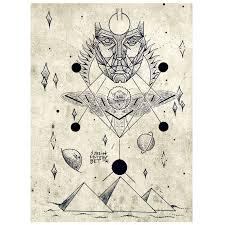 крадущий солнце Sketch Tattoo татуировки эскиз и тату