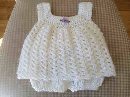 Crochet Baby Dress Pattern Free