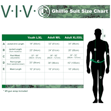 Ghillie Suit Size Chart Details About New Ghillie Suit Xl Xxl Camo Woodland Camouflage Forest Hunting 4 Piece Bag