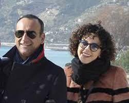 Carlo Conti con la moglie Francesca Vaccaro e il figlio Matteo: è un papà  dolcissimo. Guarda le foto