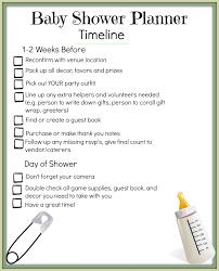 Maker Mom Life Free Baby Shower Planning Printables
