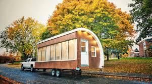 Small Picture Solar Powered Pod as Prototype for Tiny House Mobile Office and More