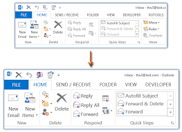 how to change text size how to change ribbon font size in outlook