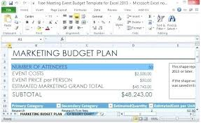 Event Budget Sample Download By Conference Budget Template Sample Planner Android