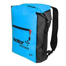 <b>25L PVC Swimming</b> Waterproof Dry Bag Double Straps Rafting ...