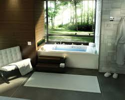 Tranquil Bathroom Lovely Japanese Soaking Tub Designs To Bring Relaxing Spa