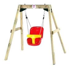 wood toddler swing wooden toddler swing plum baby durable for young new outdoor with stand toddler