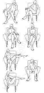 イラストポーズ集玉座に座るポーズ7種 面倒くさがりなマサのブログ